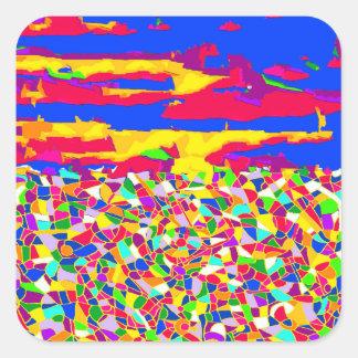 Transcendence Square Sticker