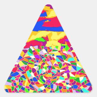 Transcendence Triangle Sticker