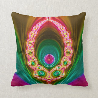 Transcendent Alien Variation 3  Throw Pillow