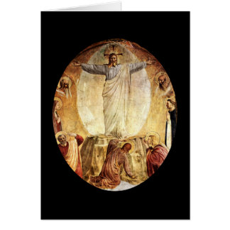 Transcendent  Christ Risen from the Tomb Card