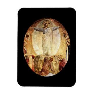Transcendent  Christ Risen from the Tomb Magnet