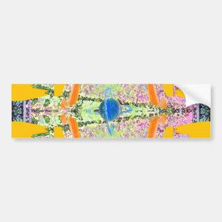 """Transcendent""  CricketDiane Visual Languages Bumper Sticker"