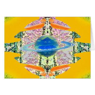 """Transcendent""  CricketDiane Visual Languages Greeting Card"