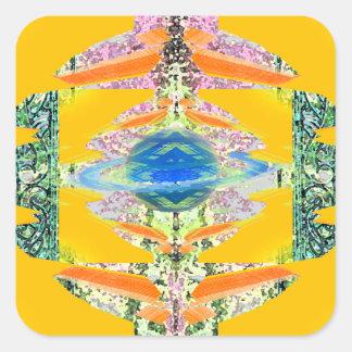 """""""Transcendent""""  CricketDiane Visual Languages Square Sticker"""