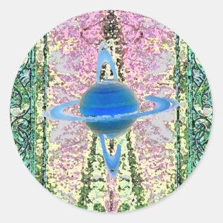 """""""Transcendent""""  CricketDiane Visual Languages Classic Round Sticker"""
