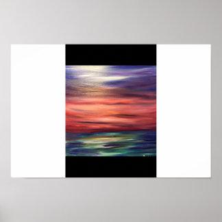 transcending sunset poster