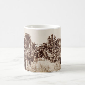 Transcontinental Railroad - Golden Spike Ceremony Coffee Mug
