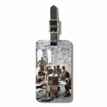Transcribers in the Ruins Bag Tag