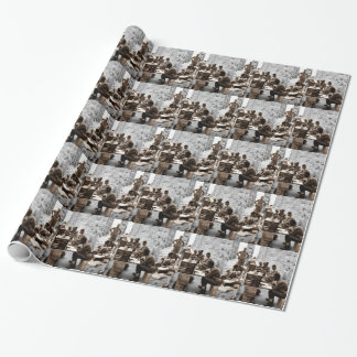 Transcribers in the Ruins Wrapping Paper