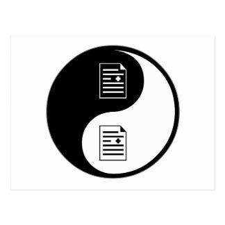 Transcripción médica de Yin Yang Postal