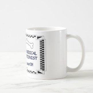 Transcriptionist médico de la radiología taza de café