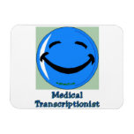 Transcriptionist médico del HF del hospital Imanes Rectangulares