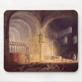 Transept of Ewenny Priory by William Turner Mousepads