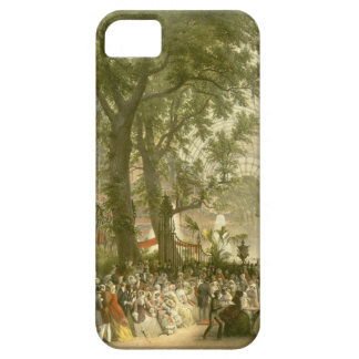 Transept of the Crystal Palace, 1851 (coloured lit iPhone SE/5/5s Case