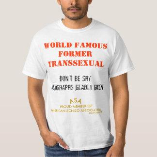 TRANSEXUAL ANTERIOR FAMOSO - ICONOBLASTER CAMISAS