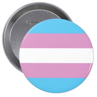 Transexual Pride 4 Inch Round Button