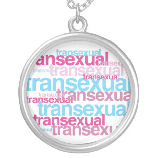 TRANSEXUAL PRIDE CLUSTER -.png Custom Necklace