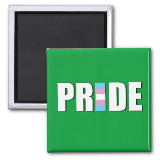 TRANSEXUAL PRIDE WORD FLAG REFRIGERATOR MAGNETS