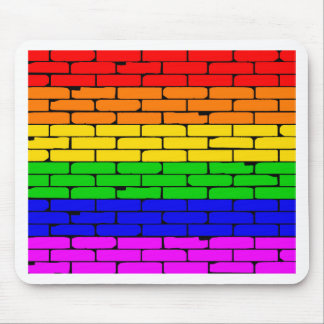 Transexual Rainbow Wall Mouse Pad