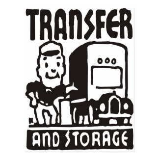 Transfer and Storage Postcard