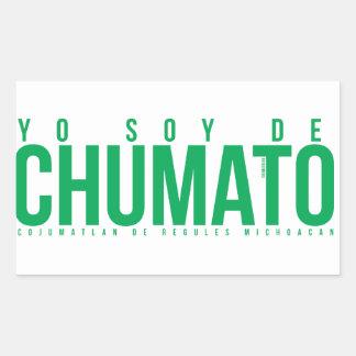 Transfer - I am of Chumato (2013) Rectangular Sticker