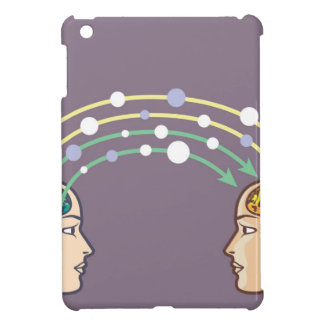 Transfer of information between minds iPad mini cases