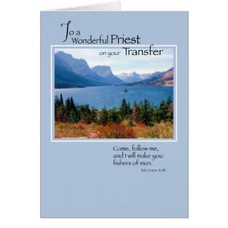 Transferencia de 3767 sacerdotes, lago mountain tarjeta de felicitación