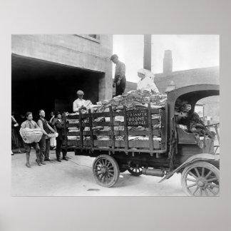 Transferencia de Boone y camión del almacenamiento Impresiones