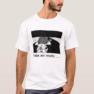 , transferred in the motor bike ...... T-Shirt
