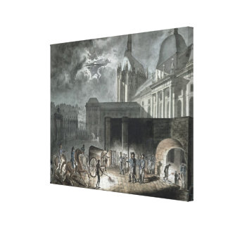 Transferring Prisoners to the Conciergerie Canvas Print