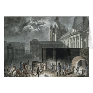 Transferring Prisoners to the Conciergerie Card