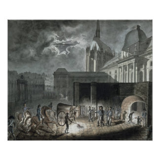 Transferring Prisoners to the Conciergerie Poster