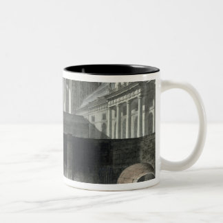 Transferring Prisoners to the Conciergerie Two-Tone Coffee Mug