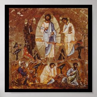 Transfiguración de Cristo Poster