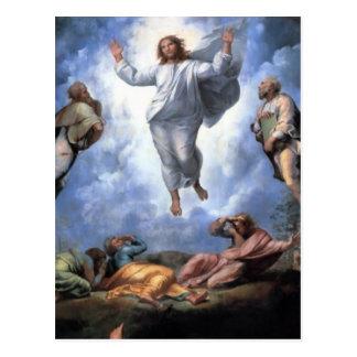 TRANSFIGURACIÓN DE JESÚS POSTAL