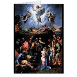 TRANSFIGURACIÓN DE JESÚS TARJETÓN