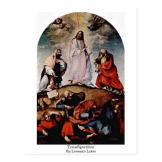 Transfiguración de Lorenzo Lotto Postales