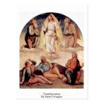 Transfiguración de Pedro Perugino Postal
