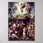 Transfiguración de Raffael (la mejor calidad) Póster