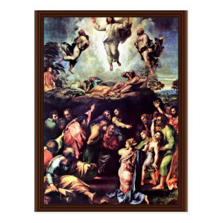 Transfiguración de Raffael (la mejor calidad) Tarjeta Postal
