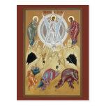 Transfiguración del señor Prayer Card Postal