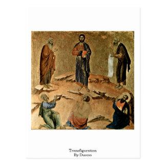Transfiguración por Duccio Postales