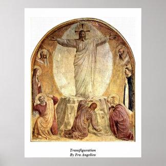 Transfiguración por Fra Angelico Posters