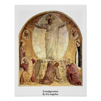 Transfiguration By Fra Angelico Print