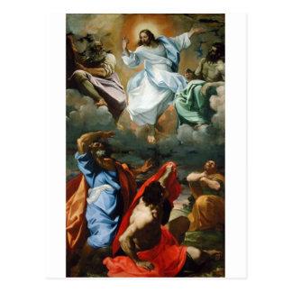Transfiguration_by_Lodovico_Carracci. Tarjeta Postal