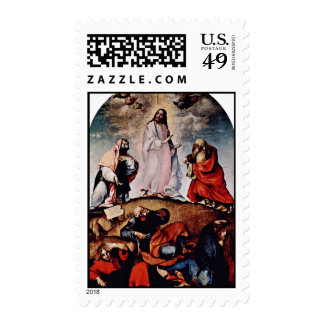 Transfiguration By Lotto Lorenzo (Best Quality) Stamp