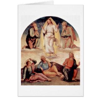 Transfiguration By Pietro Perugino Greeting Cards