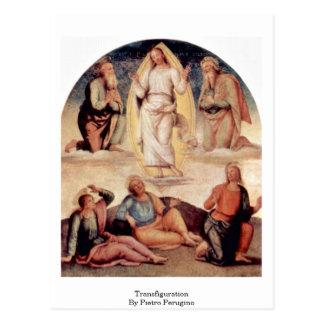 Transfiguration By Pietro Perugino Postcard