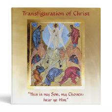 Transfiguration of Christ 3 Ring Binder