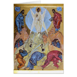 Transfiguration of Christ Card